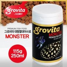 그로비타 대형어사료 (115g)